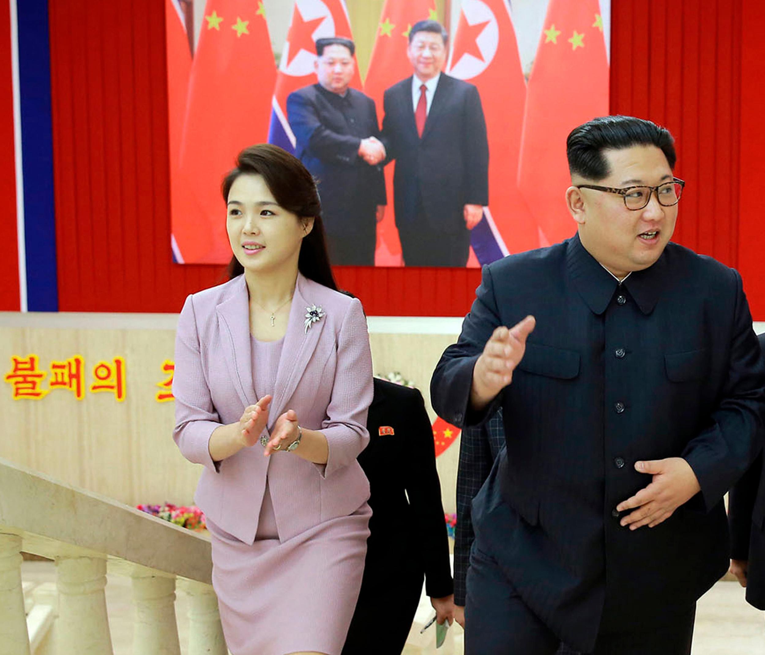 Ri Sol Ju, Kim Jong Un – Aruba...